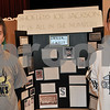 Barry Schrader photo<br /> <br /> Hiawatha High School juniors Donald Giebel (left) and Eduardo Canchola stand with their winning history fair exhibit at Northern Illinois University. The Northern Illinois Regional History Fair was held Feb. 25 at the DeKalb campus of NIU.