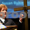 Kyle Bursaw – kbursaw@shawmedia.com<br /> <br /> Salvation Army's Lieutenant Colonel Susan Bukiewicz speaks to attendees of World Day of Prayer ceremony at the Salvation Army in DeKalb, Ill. on Friday, March 2, 2012. The 2012 program was prepared by the World Day of Prayer committee in Malaysia.