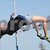 Rob Winner – rwinner@shawmedia.com<br /> <br /> Genoa-Kingston's Danielle Neisendorf practices the high jump on Tuesday, March 13.