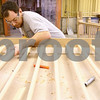 Kyle Bursaw – kbursaw@shawmedia.com<br /> <br /> Jason Viverito assembles one of several  solid oak railings that will be put into a new home while working at Edward Hines Lumber in Kirkland, Ill. on Thursday, March 15, 2012.