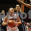 Rob Winner – rwinner@shawmedia.com<br /> <br /> Northern Illinois forward Claire Jakubicek controls a rebound before taking a shot during the first half in DeKalb, Ill., on Wednesday, December 14, 2011.