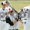 Rob Winner – rwinner@shawmedia.com<br /> <br /> DeKalb's Jeremy Karasewski swings a bat before the start of a game on Saturday, March 17 in DeKalb.