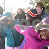 Rob Winner – rwinner@shawmedia.com<br /> <br /> XXXXX, participates in a problem-solving exercise during an Adventure Works outing at Afton Forest Preserve in DeKalb Saturday, Jan. 28. Adventure Works of DeKalb County is a therapy program that assists at-risk youth by participating in outdoor activities.