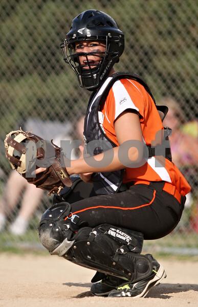 DeKalb catcher Alysha Guy