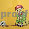 "Kyle Bursaw – kbursaw@shawmedia.com<br /> <br /> ""Sad Clown"" a 2009 serigraph by Mark Hosford, part of the ""New to the Collection"" exhibit at the NIU art musuem.<br /> <br /> Wednesday, Jan. 4, 2012"