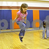 Rob Winner – rwinner@shawmedia.com<br /> <br /> Gwen Woods, 8, participates in the American Heart Association's Jump Rope for Heart fundraiser for those with heart problems on Wednesday afternoon at Kingston Elementary School.