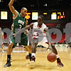 Rob Winner – rwinner@shawmedia.com<br /> <br /> Ohio guard Walter Offutt (left) pressures Northern Illinois guard Antone Christian during the first half in DeKalb on Wednesday, Feb. 1, 2012.