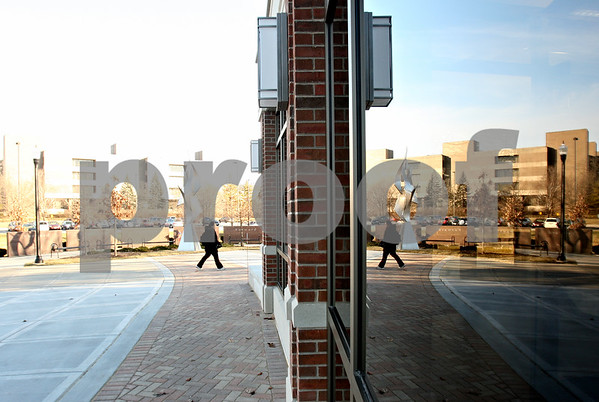 Rob Winner – rwinner@shawmedia.com<br /> <br /> An outside view of Cole Hall at Northern Illinois University as seen in DeKalb on Wednesday, Jan. 11, 2012.