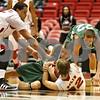 Rob Winner – rwinner@shawmedia.com<br /> <br /> Roosevelt forward Mykyta Cheshko (24) and Northern Illinois guard Aksel Bolin (32)struggle for a loose ball during the first half in DeKalb, Ill., on Monday, Jan. 2, 2012.