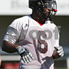 Rob Winner – rwinner@shawmedia.com<br /> <br /> Jamaal Bass during the Northern Illinois football team's first practice of the spring Wednesday, March 28, in DeKalb, Ill.