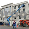 Kyle Bursaw – kbursaw@shawmedia.com<br /> <br /> Construction on the DeKalb County Courthouse expansion continues on Thursday, Feb. 2, 2012.