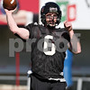 Rob Winner – rwinner@shawmedia.com<br /> <br /> Northern Illinois quarterback Jordan Lynch during practice at Huskie Stadium in DeKalb Friday, April 6, 2012.