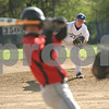 Rob Winner – rwinner@shawmedia.com<br /> <br /> Indian Creek batter David Boehne (left) takes ball four from Hinckley-Big Rock pitcher Jacob Ryan during the top of the second inning Tuesday in Big Rock.