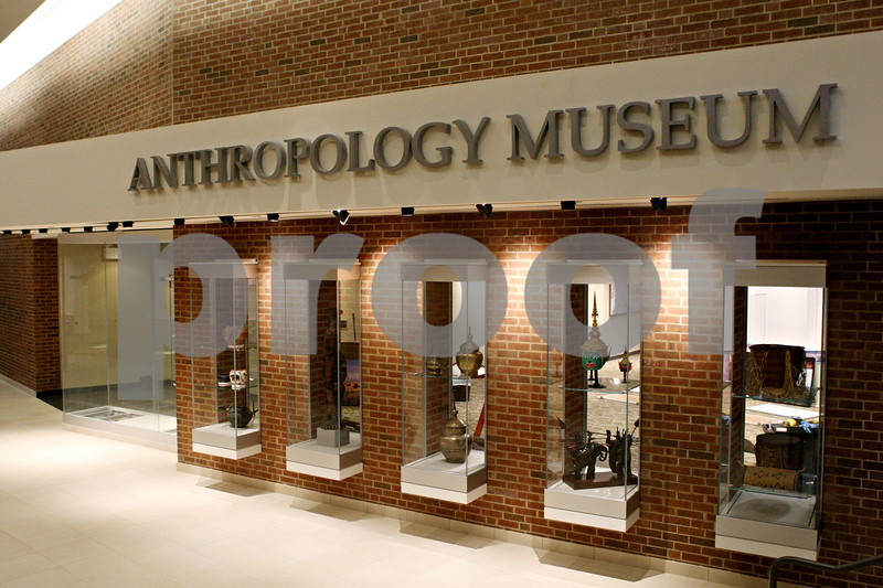 Rob Winner – rwinner@shawmedia.com<br /> <br /> A look at the outside of the Anthropology Museum within Cole Hall on Friday evening.