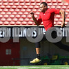 Kyle Bursaw – kbursaw@shawmedia.com<br /> <br /> Former Northern Illinois wide receiver Willie Clark sprints the 40-yard dash at Huskie Stadium during the NIU Pro Day on Friday, March 9, 2012.