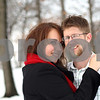 Kyle Bursaw – kbursaw@shawmedia.com<br /> <br /> Tracy and Evan Hill married on Feb. 29 four years ago at the DeKalb County Courthouse. After their wedding they took pictures at a snowy Hopkins Park, where they are pictured here on Friday, Feb. 24, 2012.