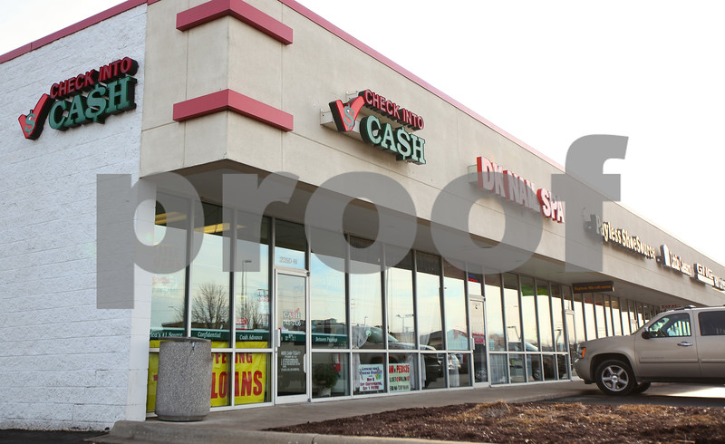 Kyle Bursaw – kbursaw@shawmedia.com<br /> <br /> Check Into Cash in DeKalb, Ill. on Friday, Jan. 6, 2012.