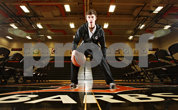 Rob Winner – rwinner@shawmedia.com<br /> <br /> Brian Sisler is the Daily Chronicle's 2012 basketball player of the year.<br /> <br /> DeKalb, Ill.<br /> Saturday, March 10, 2012