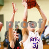 Kyle Bursaw – kbursaw@shawmedia.com<br /> <br /> Hinckley-Big Rock's Mitchell Hemesath puts up a shot in the third quarter of the Little Ten Conference Tournament semifinal game at Somonauk High School on Thursday, Feb. 2, 2012.