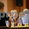 Rob Winner – rwinner@shawmedia.com<br /> <br /> 4-year-old Joey Dziaba, of Cortland, reacts while participating in a year-end DeKalb Chess Club tournament at the First Congregational Church in DeKalb on Saturday, Dec. 31, 2011.