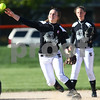 Kyle Bursaw – kbursaw@shawmedia.com<br /> <br /> Kaneland's Allyson O'Herron throws to third at Huntley Middle School on Thursday, April 5, 2012. Kaneland defeated DeKalb 9-3.