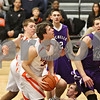 Rob Winner – rwinner@shawmedia.com<br /> <br /> DeKalb's Jake Carpenter (30) looks to shoot during the third quarter in DeKalb on Friday, Feb. 17, 2012. DeKalb defeated Rochelle, 69-67.