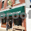 Kyle Bursaw – kbursaw@shawmedia.com<br /> <br /> A man enters Kirkland Family Restaurant just before noon on Thursday, March 15, 2012.