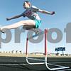 Rob Winner – rwinner@shawmedia.com<br /> <br /> Genoa-Kingston sophomore Brianna Kramer practices hurdles on Tuesday, March 13.