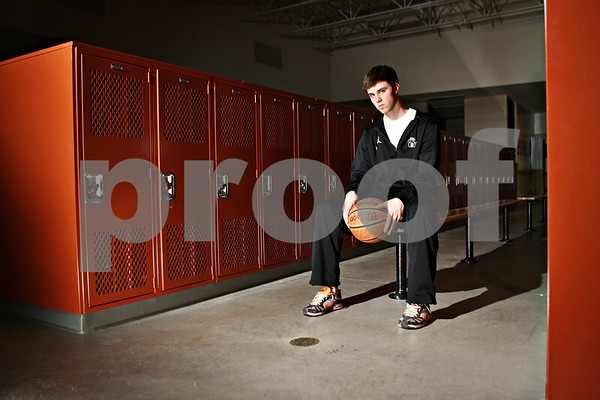 Rob Winner – rwinner@shawmedia.com<br /> <br /> Brian Sisler is the Daily Chronicle's 2012 basketball player of the year.<br /> <br /> DeKalb, Ill.<br /> Saturday, March 10, 2012