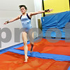 Rob Winner – rwinner@shawmedia.com<br /> <br /> DeKalb gymnast Alyssa Lopez lands after a vault during practice at Energym in Sycamore, Ill. on Monday, Jan. 2, 2012.