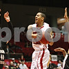 Rob Winner – rwinner@shawmedia.com<br /> <br /> Northern Illinois guard Tony Nixon goes up for a shot before drawing a foul from Western Michigan center Matt Stainbrook (40) during the first half in DeKalb on Wednesday, Feb. 15, 2012.