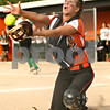 Rob Winner – rwinner@shawmedia.com<br /> <br /> DeKalb catcher Alysha Guy catches a foul ball to end the top of the fourth inning Tuesday in DeKalb. LaSalle-Peru defeated DeKalb, 8-1.