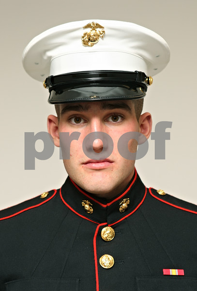Marine Private Logan Bland<br /> 2011 graduate of Sandwich High School
