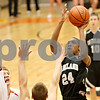 Rob Winner – rwinner@shawmedia.com<br /> <br /> Kaneland's Thomas Williams takes a shot during the fourth quarter in DeKalb on Friday, Feb. 10, 2012. Kaneland defeated DeKalb, 65-55.