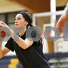 Rob Winner – rwinner@shawmedia.com<br /> <br /> Hiawatha's Dani Clark takes a shot during a drill at practice in Kirkland on Wednesday, Jan. 11, 2012.