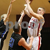 Rob Winner – rwinner@shawmedia.com<br /> <br /> Indian Creek's Jacob Bjorneby (33) goes up for a shot during the first quarter in Shabbona as the Timberwolves hosted Hinckley-Big Rock on Friday night.