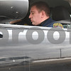 Kyle Bursaw – kbursaw@shawmedia.com<br /> <br /> Kirkland police officer Tim McWilliams looks at his radar to see how fast a white van (seen in his car's reflection at the bottom) was going in Kirkland, Ill. on Tuesday, Feb. 21, 2012.