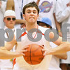Kyle Bursaw – kbursaw@shawmedia.com<br /> <br /> DeKalb guard Brian Sisler<br /> <br /> DeKalb defeated Sycamore 41-36 at DeKalb High School on Friday, Feb. 24, 2012.