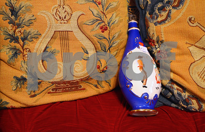 Kyle Bursaw – kbursaw@shawmedia.com  Some of the items for sale in the eight-bedroom house at 417 North First Street in DeKalb. The house, once lived in by Isaac Ellwood's son Perry, was donated to the Ellwood House Foundation by Shirley Hamilton-Nehring. A tag sale will be held on May 5-6 with items ranging in price from $5 to tens of thousands of dollars.  Photographed on Friday, April 27, 2012.