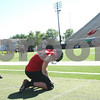 Kyle Bursaw – kbursaw@shawmedia.com<br /> <br /> Northern Illinois kicker Mathew Sims (99) lines up to kick while Ryan Neir (18)  waits to receive the snap during practice at Huskie Stadium on Monday, Aug. 6, 2012.