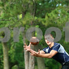 Kyle Bursaw – kbursaw@shawmedia.com<br /> <br /> Hiawatha tight end Allen Letterer III brings one in at pratice on Thursday, Aug. 9, 2012.