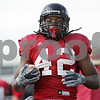 Rob Winner – rwinner@shawmedia.com<br /> <br /> Northern Illinois running back Cameron Stingily carries the ball while running a drill during practice at Huskie Stadium in DeKalb, Ill., on Friday, Aug. 10, 2012.