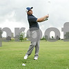 Rob Winner – rwinner@shawmedia.com<br /> <br /> Hinckley-Big Rock's Luke Winkle watches his ball while practicing his swing at Indian Oaks Country Club in Shabbona, Ill., Wednesday, Aug. 8, 2012.