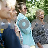 Rob Winner – rwinner@shawmedia.com<br /> <br /> The Marlyn Majorettes founder Marlyn Burkart (right) and other original members including Marilyn Hubbard pose for photographs during their annual picnic at Sycamore Community Park Saturday afternoon.