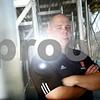 Kyle Bursaw – kbursaw@shawmedia.com<br /> <br /> Todd Hallaron will lead the Barbs on the gridiron this fall as the new head coach.<br /> <br /> Taken at DeKalb High School on Friday, Aug. 3, 2012.