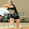 Rob Winner – rwinner@shawmedia.com<br /> <br /> DeKalb libero Nicole Schladt, a sophomore, gets under a ball during practice Wednesday, Aug. 29, 2012.