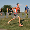 Rob Winner – rwinner@shawmedia.com<br /> <br /> DeKalb's Marc Dubrick is seen running in the Sycamore Invitational at Afton Forest Preserve Tuesday.