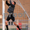 Rob Winner – rwinner@shawmedia.com<br /> <br /> DeKalb goalkeeper Matt Allen makes a save during the first half at Barb Cup in DeKalb Thursday, Aug. 23, 2012. DeKalb defeated Belvidere North, 3-0.