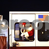 Rob Winner – rwinner@shawmedia.com<br /> <br /> Santa Claus arrives on a fire engine outside the Midwest Museum of Natural History in downtown Sycamore, Ill., Friday, Dec. 7, 2012.