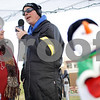 Kyle Bursaw – kbursaw@shawmedia.com<br /> <br /> Dawn Littlefield, the executive director of the Kishwaukee United Way, talks with WLBK personality Terry 'T.D.' Ryan after making a donation in the annual Freezin' for Food drive where they will be taking non-perishable donations until noon Saturday in the Target/Aldi shopping center near Starbucks in DeKalb, Ill. on Wednesday, Dec. 5, 2012.